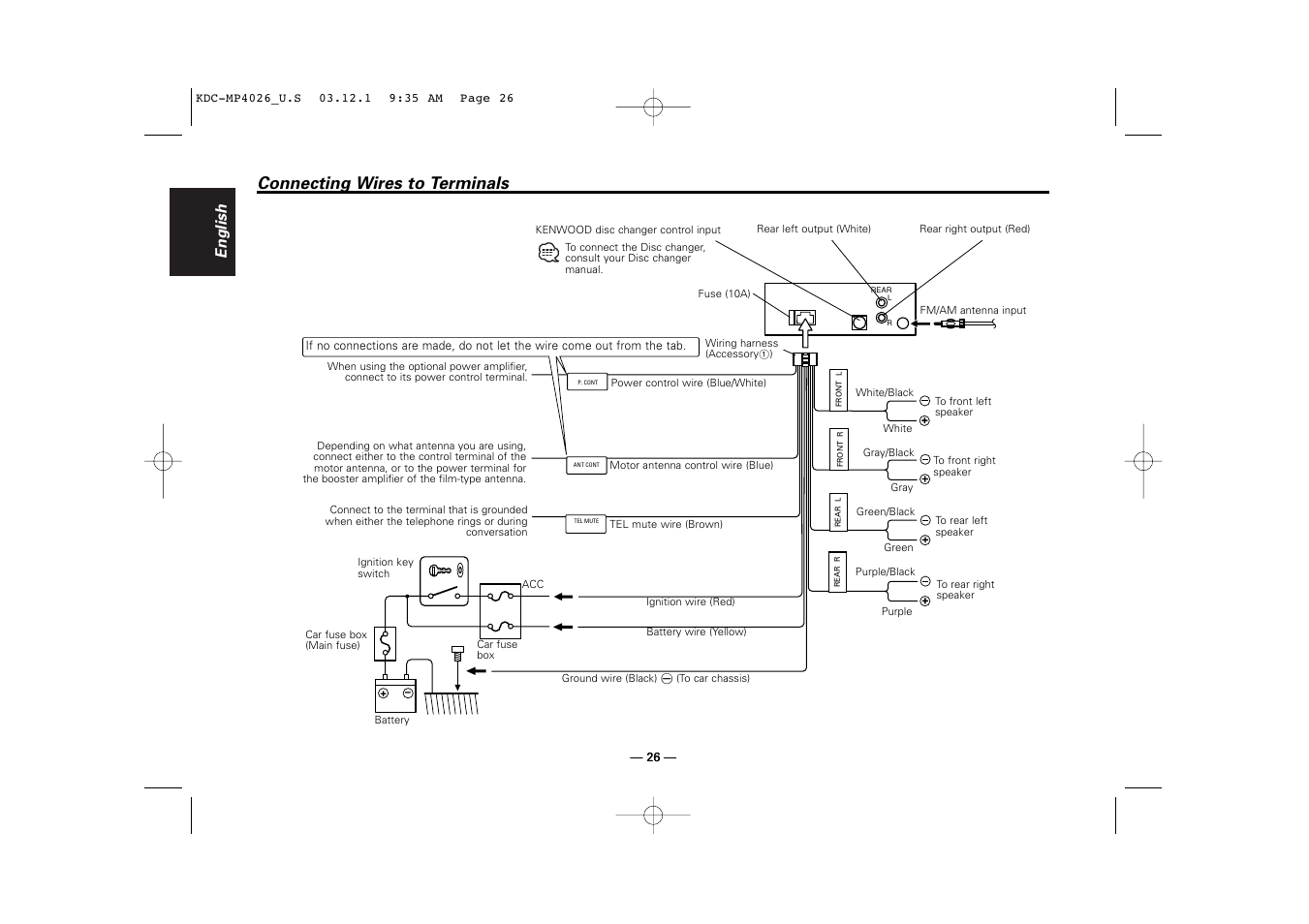 Kenwood Kvt 911dvd Wiring Diagram