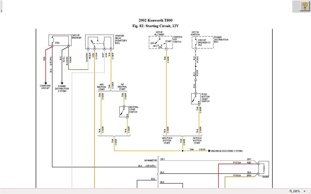 Kenworth T800 Trinary Switch Wiring Diagram