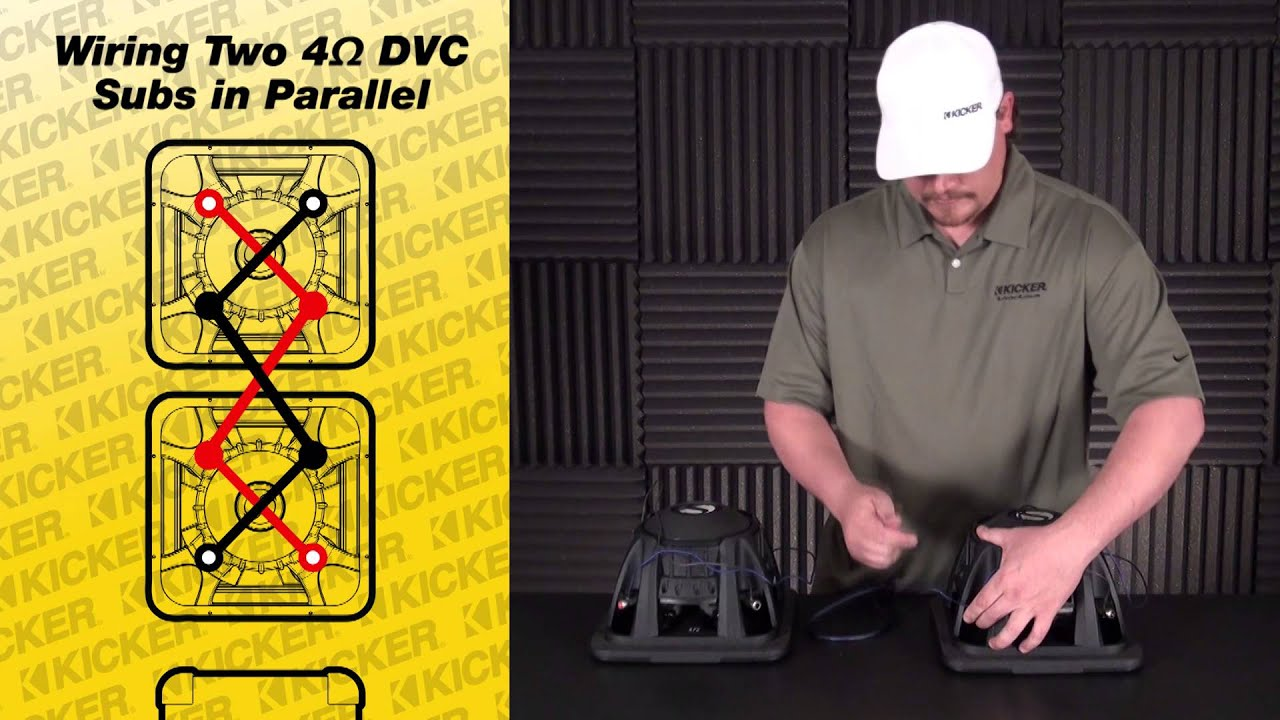 Kicker Compr 12 Dvc 2 Ohm Wiring Diagram on