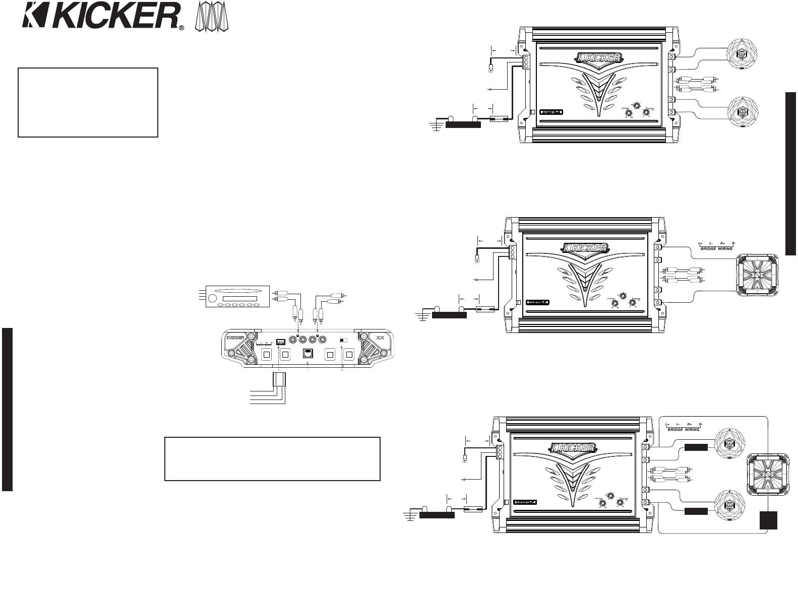 Wiring Diagrams For 2 Subwoofers