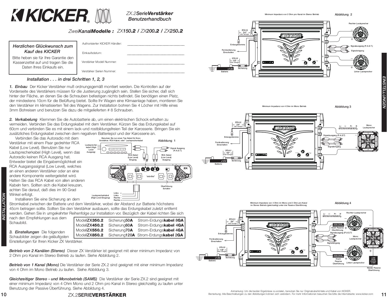 Kicker L5 Wiring Diagram 1 Ohm