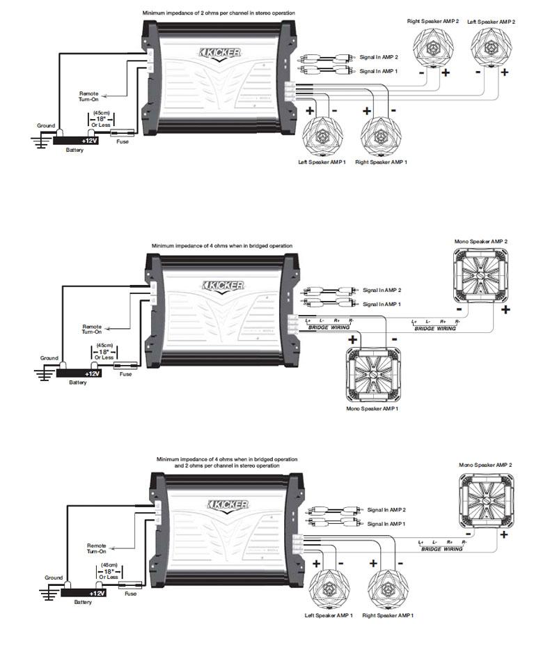 Dual 2 Ohm Wiring Diagram: Kicker Solo Baric L5 Wiring Diagram