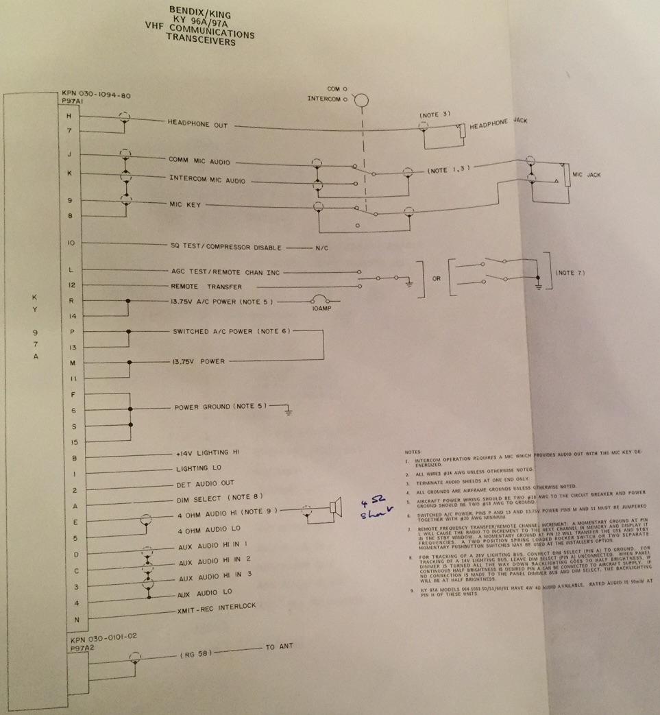King Kt78 Wiring Diagram