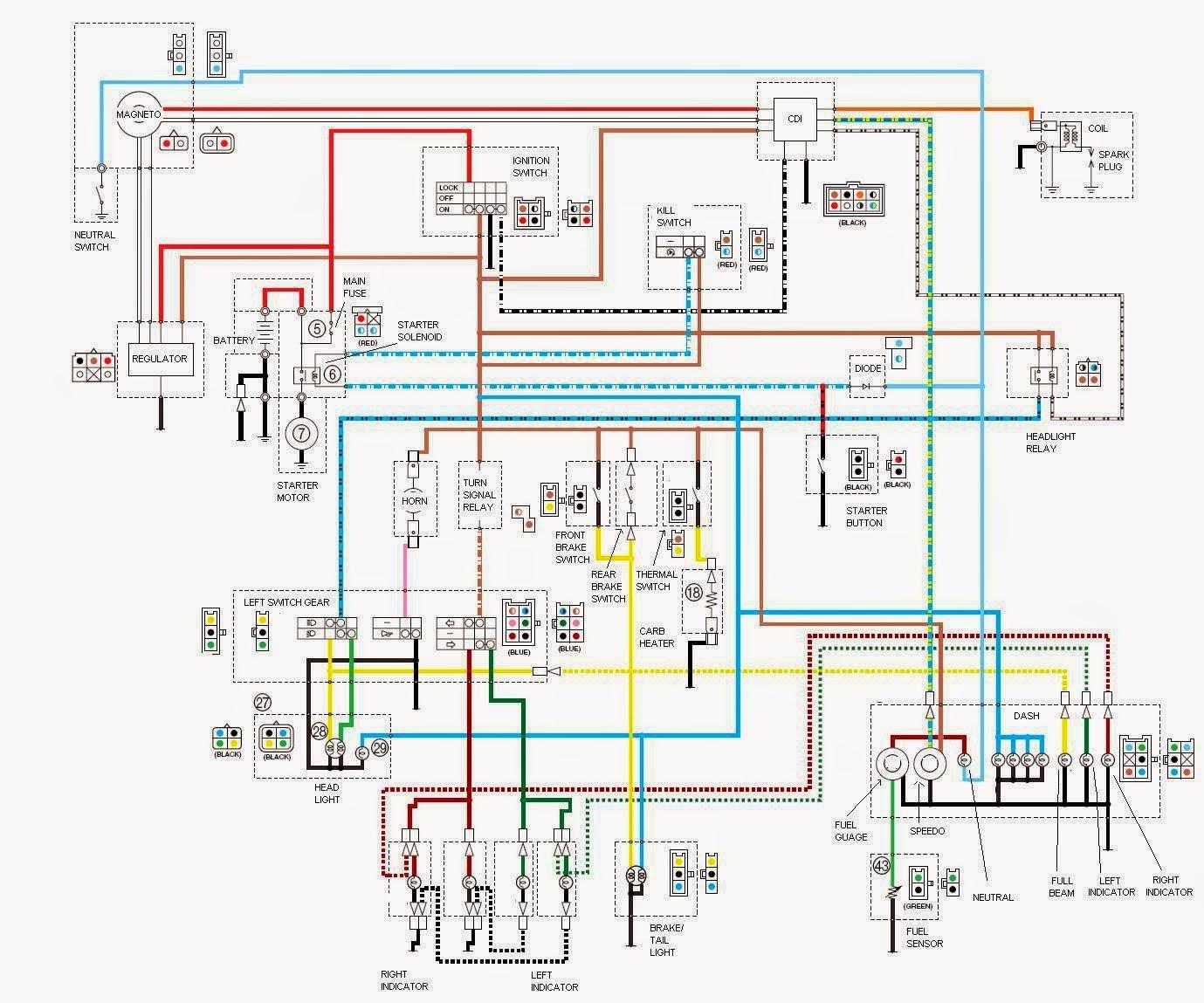 Kokusan Denki Cdi Wiring Diagram