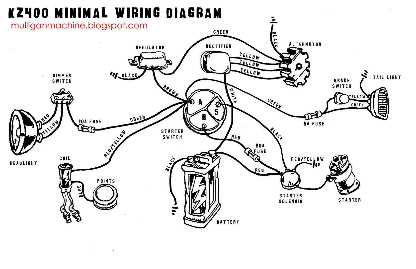 Kz400 Wiring Diagram