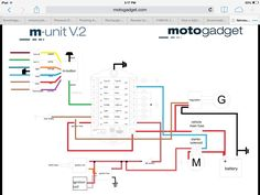 on xs750 with m unit wiring diagram