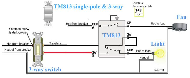 Legrand Paddle Switch Wiring Diagram