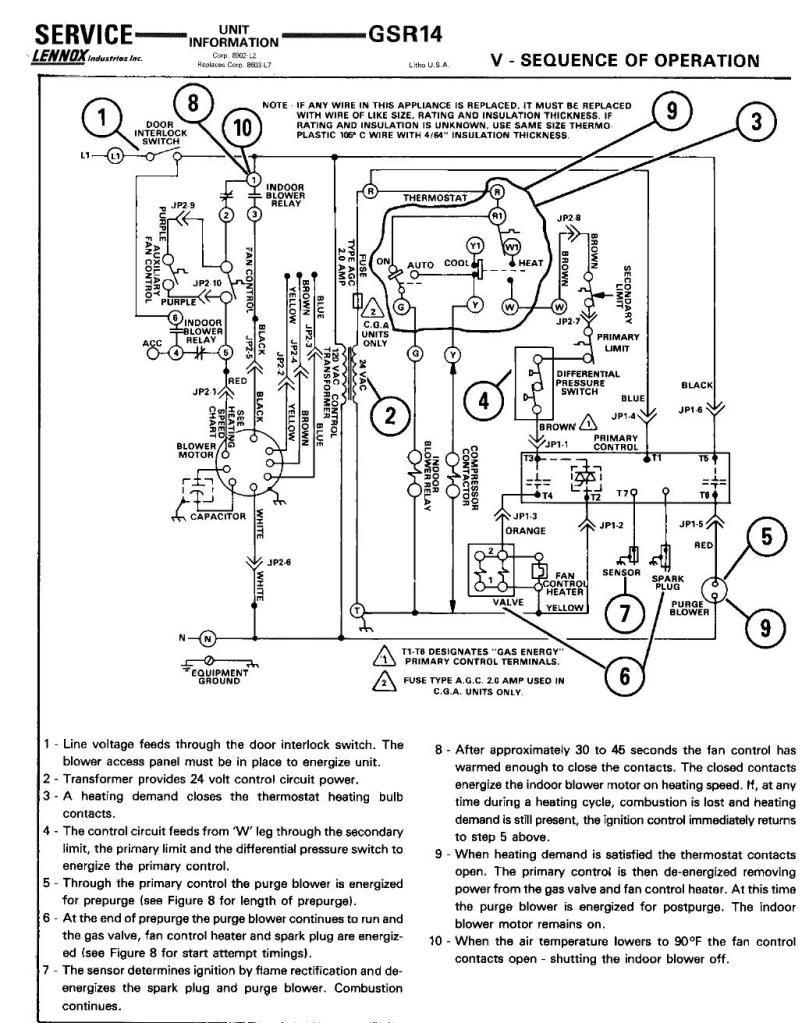 Lennox 51m32 Wiring Diagram