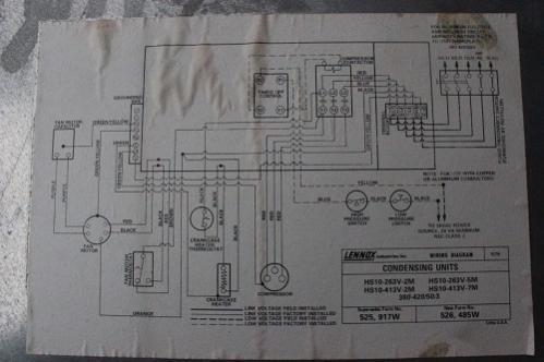 lennox central air conditioner hs23-461-2p wiring diagram on lennox  heat pump wiring