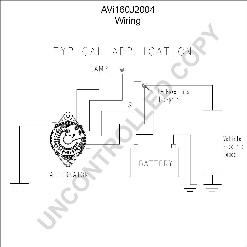 Wire Alternator Wiring Diagram Further Delco One Wire Alternator
