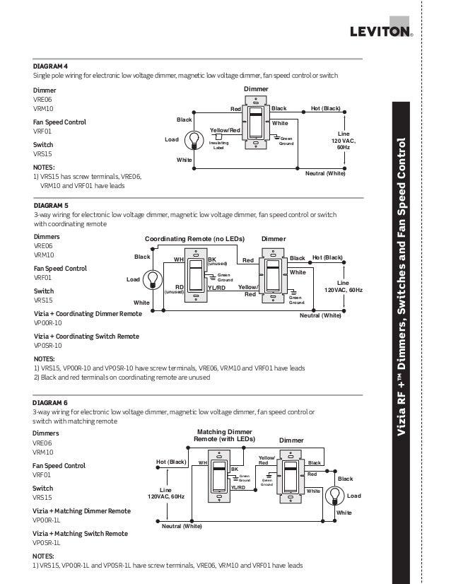 Leviton 5634 Wiring Diagram
