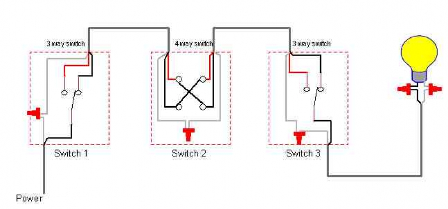 Leviton Four Way Switch Wiring Diagram from schematron.org