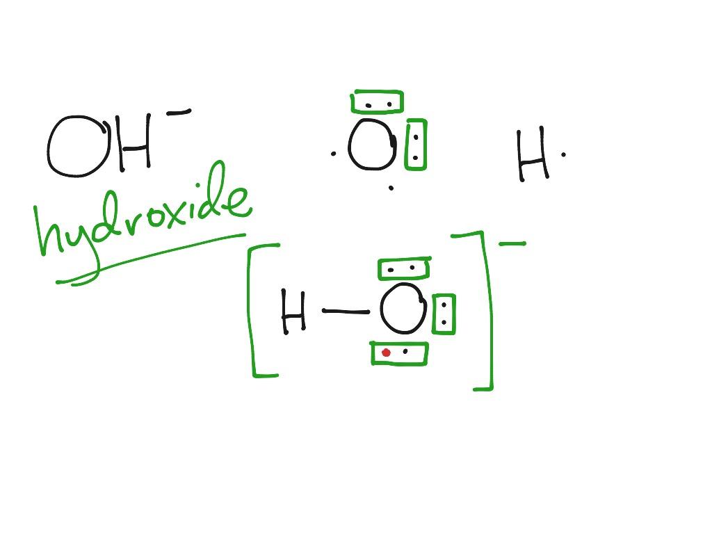 lewis dot diagram h2o