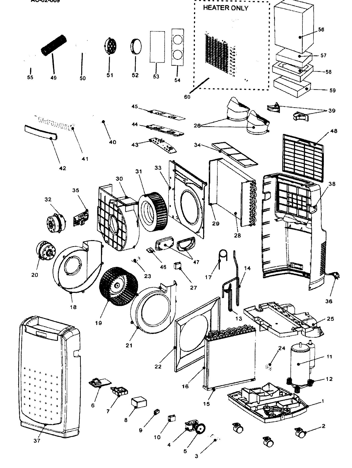 Lg Portable Air Conditioner Model Lp1411shr Wiring Diagram