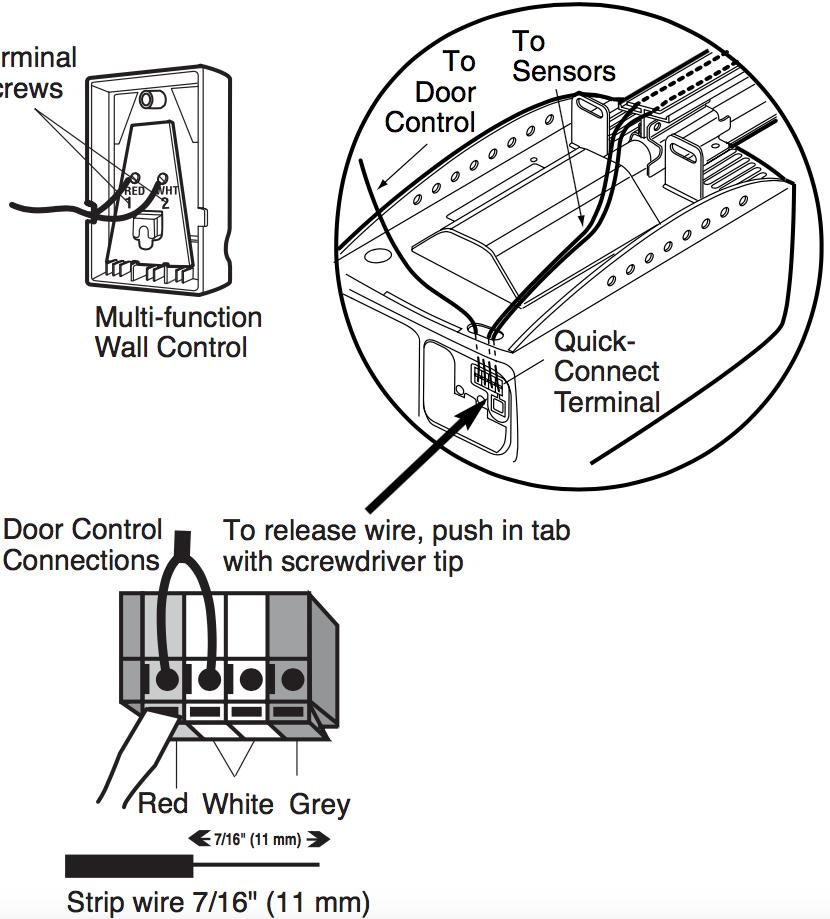 Liftmaster Garage Door Opener Wiring Diagram