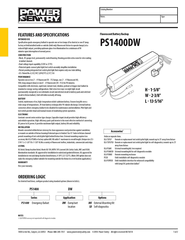 Lithonia Emergency Ballast Wiring Diagram