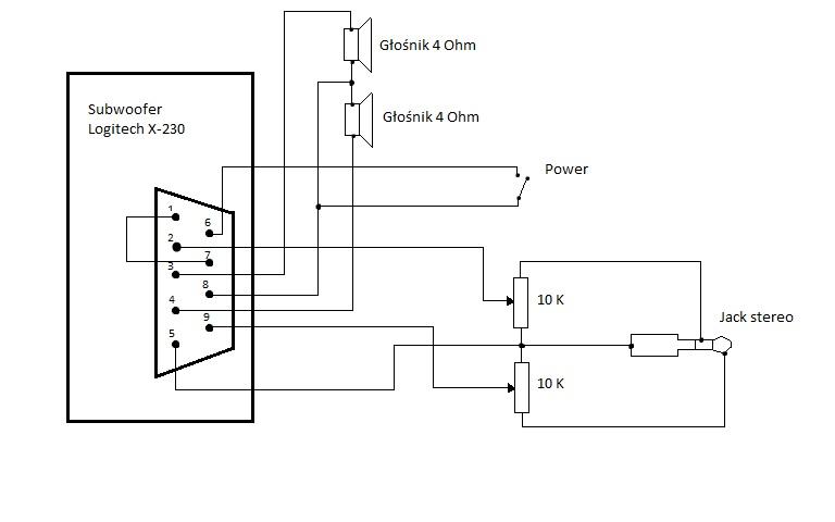 logitech wiring diagram wiring diagrams Speakers Wiring Diagram
