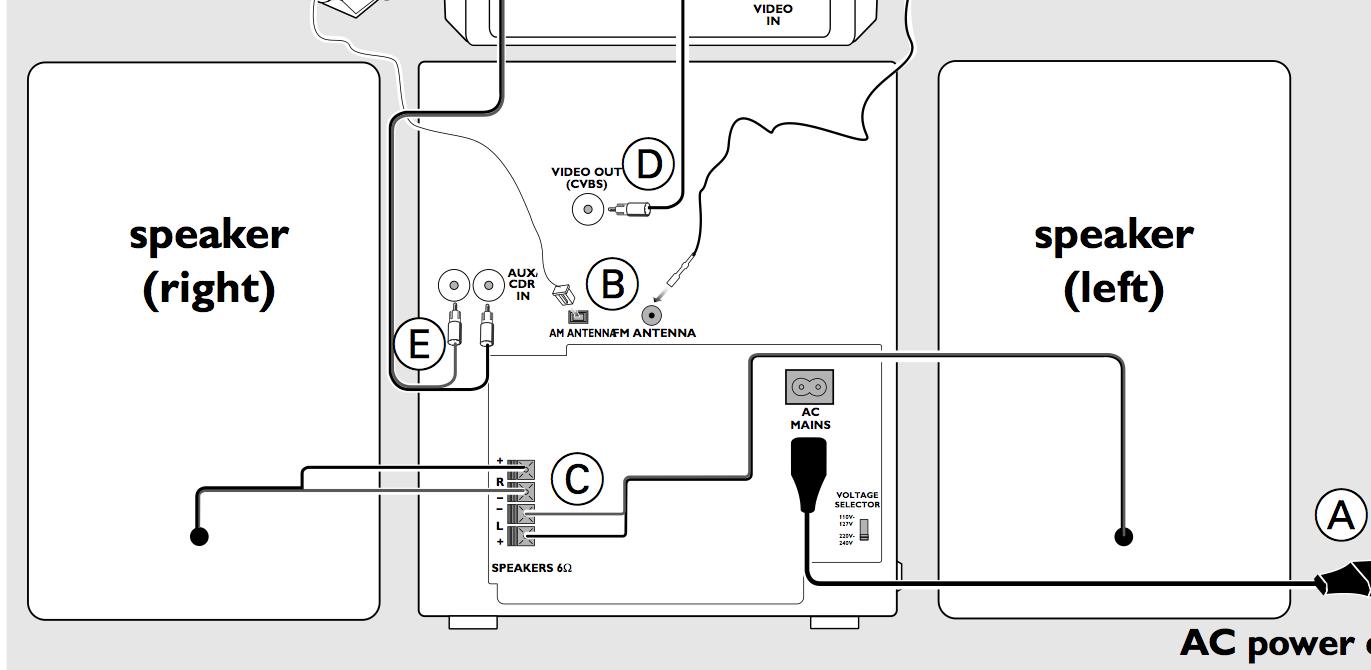 Logitech Z 5300 Wiring Diagram