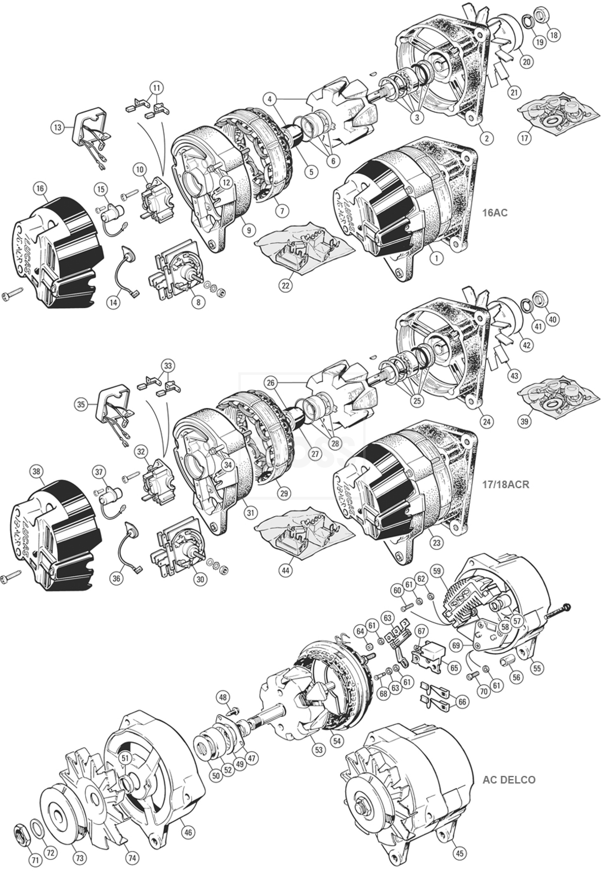 lucas 17acr alternator wiring diagram. Black Bedroom Furniture Sets. Home Design Ideas