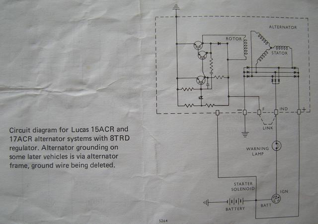 Lucas 17acr Alternator Wiring Diagram