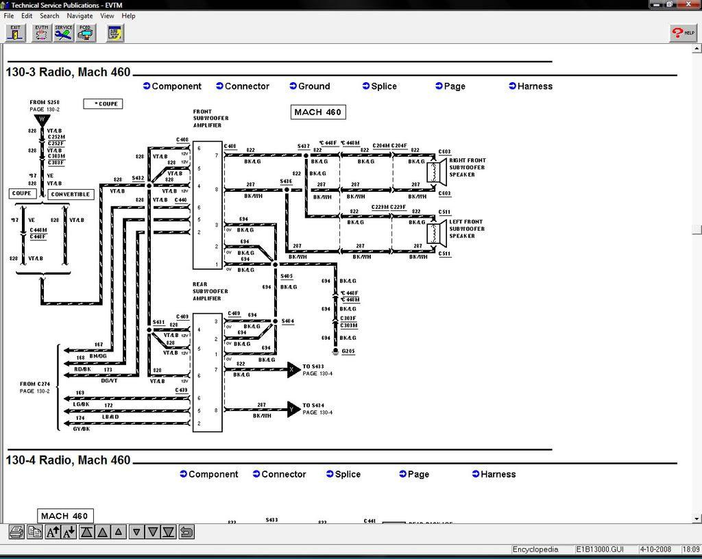 M2001 Mustang Gt Wiring Diagram