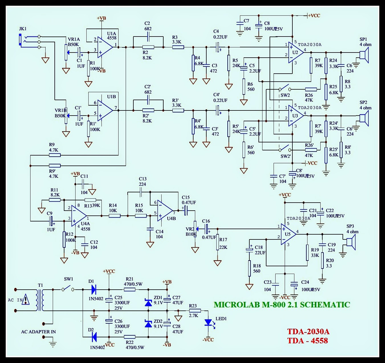 M800 Wiring Diagram
