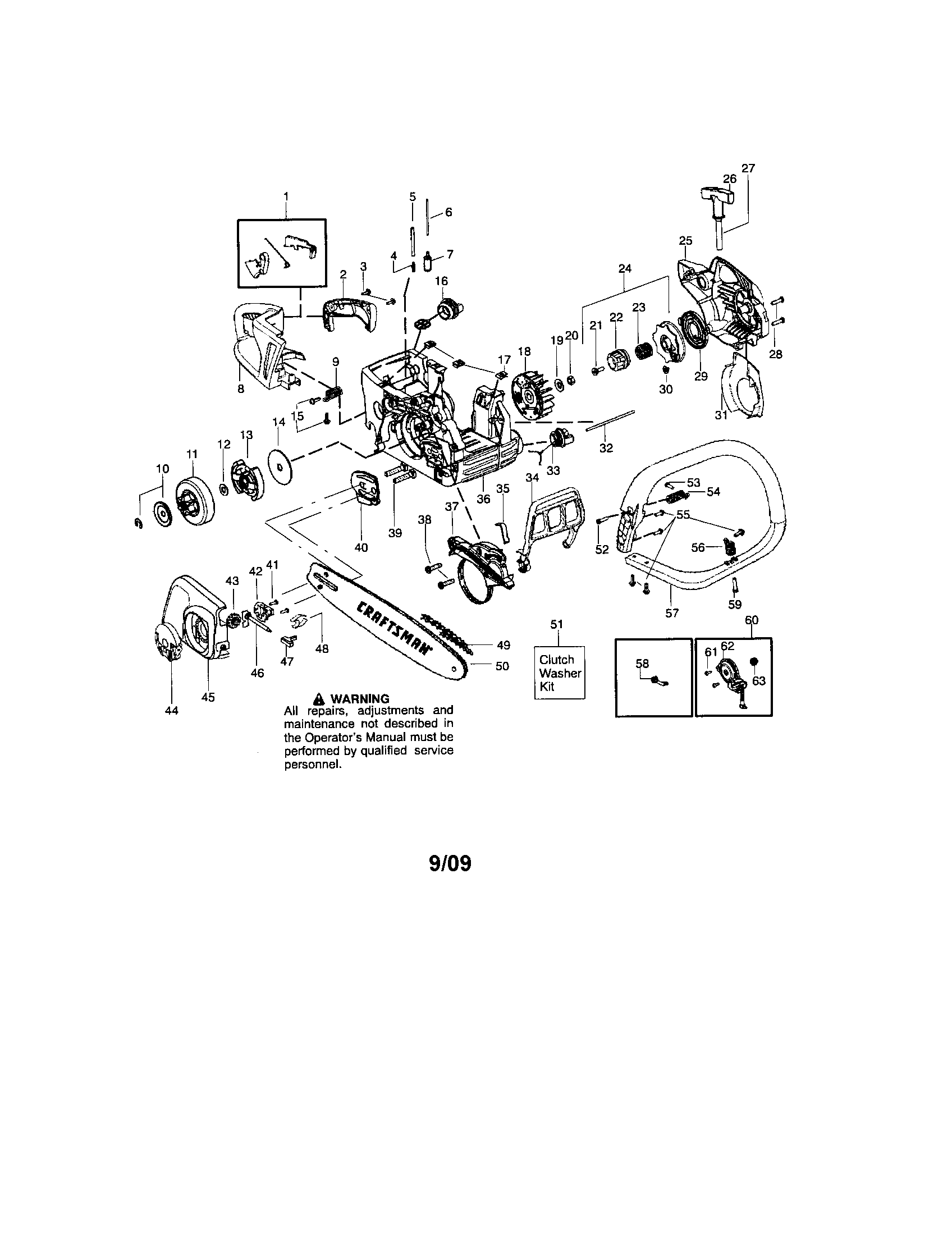 Mac 3200    Chainsaw    Fuel Line    Diagram