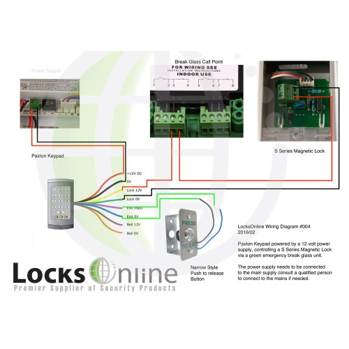 Maglock Wiring Diagram