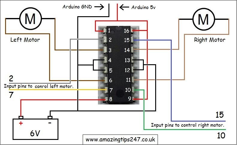 Makeblock Motor Driver Board Wiring Diagram