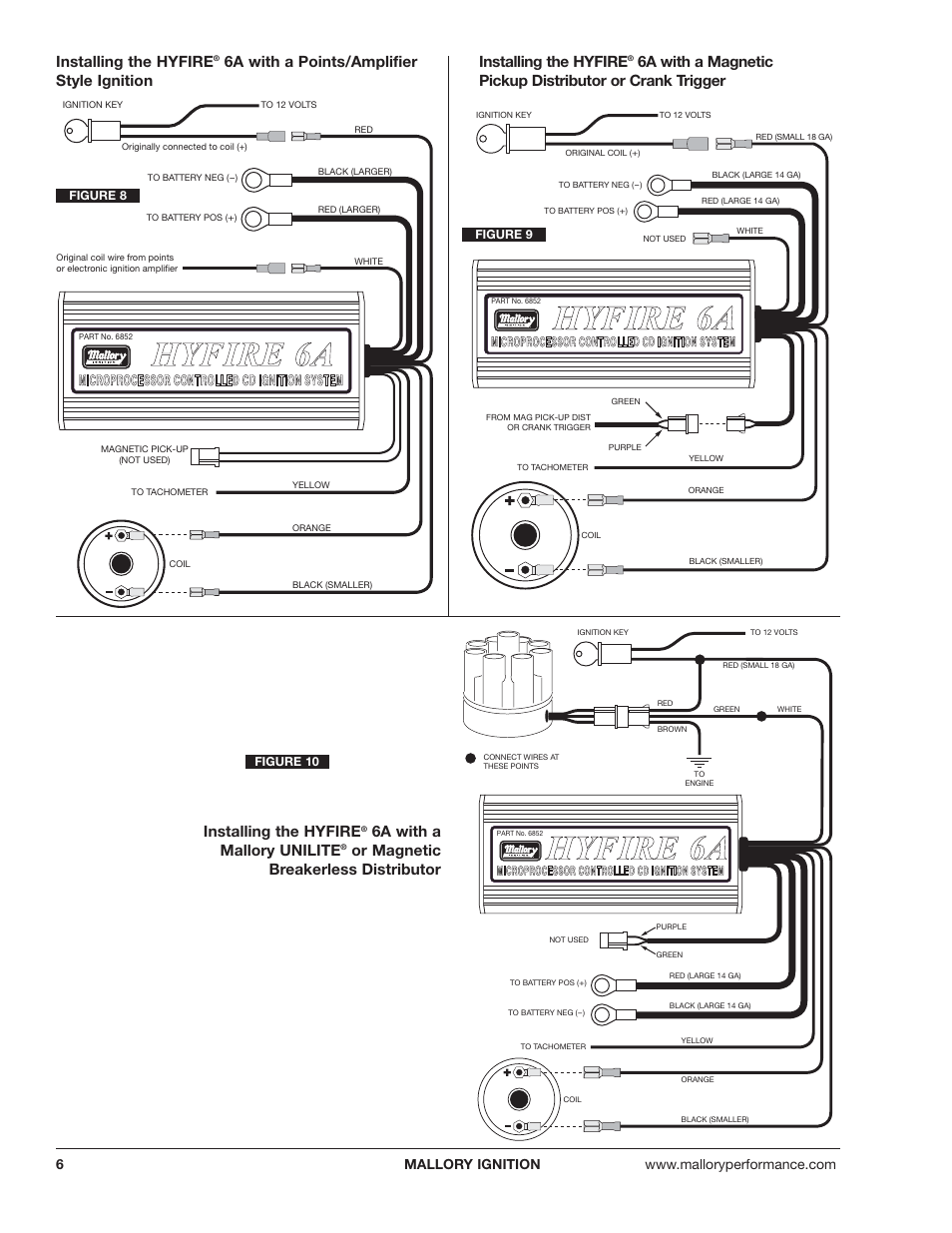 Mallory Marine Distributor Wiring Diagram