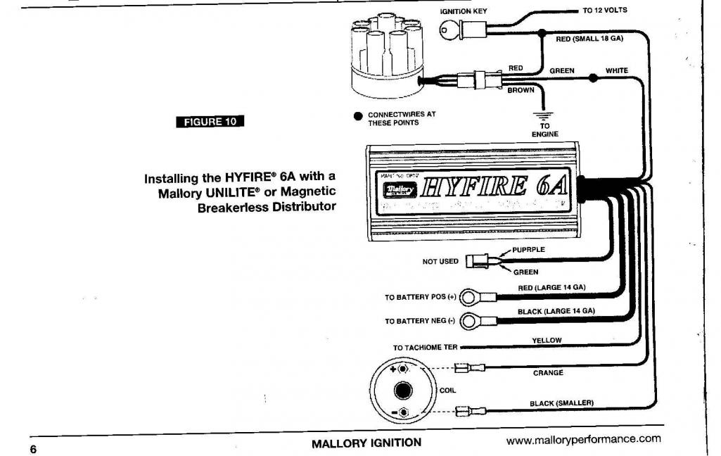Mallory Coil Wiring Diagram from schematron.org