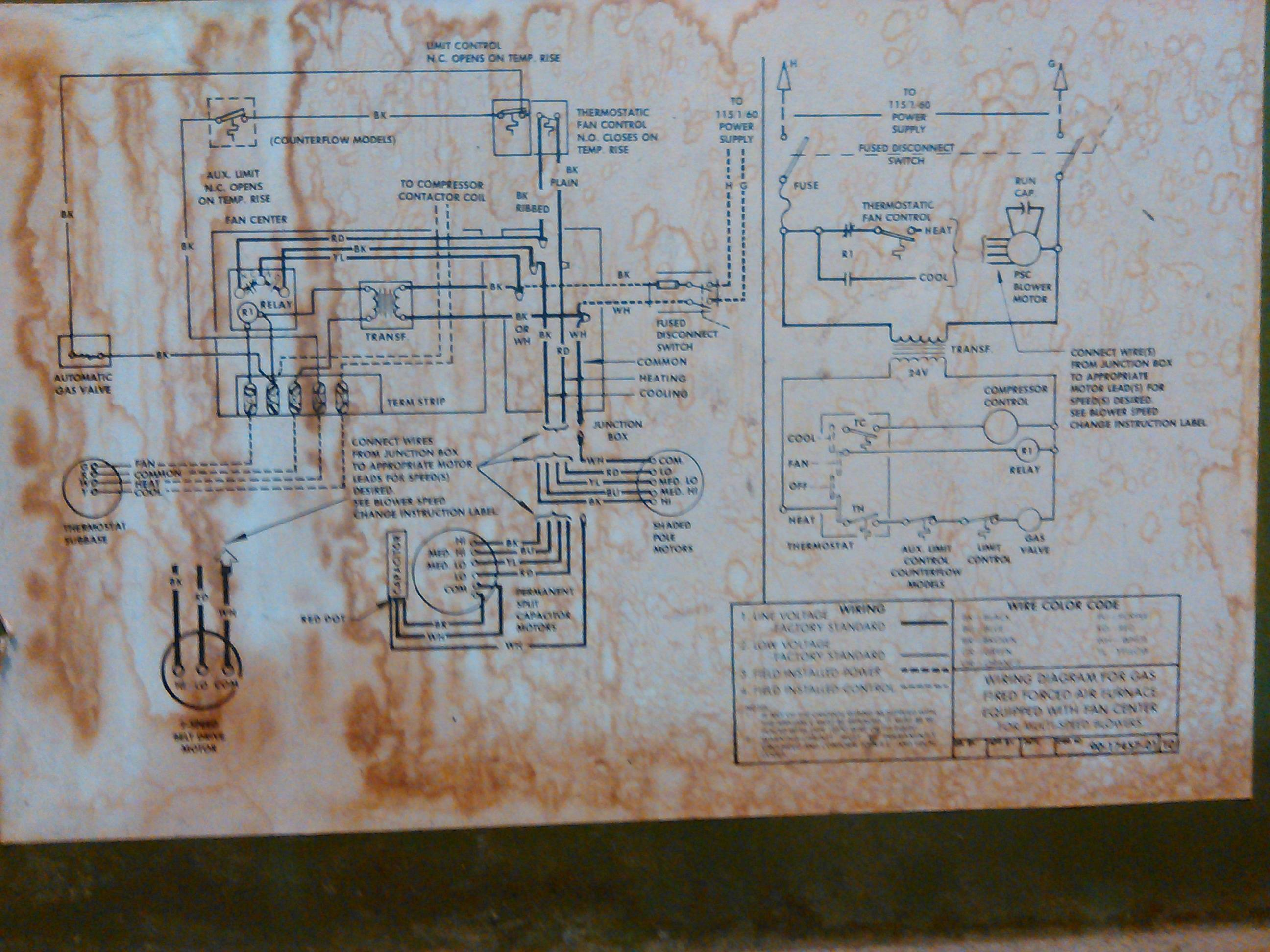 Mars 10585 Blower Motor Wiring Diagram