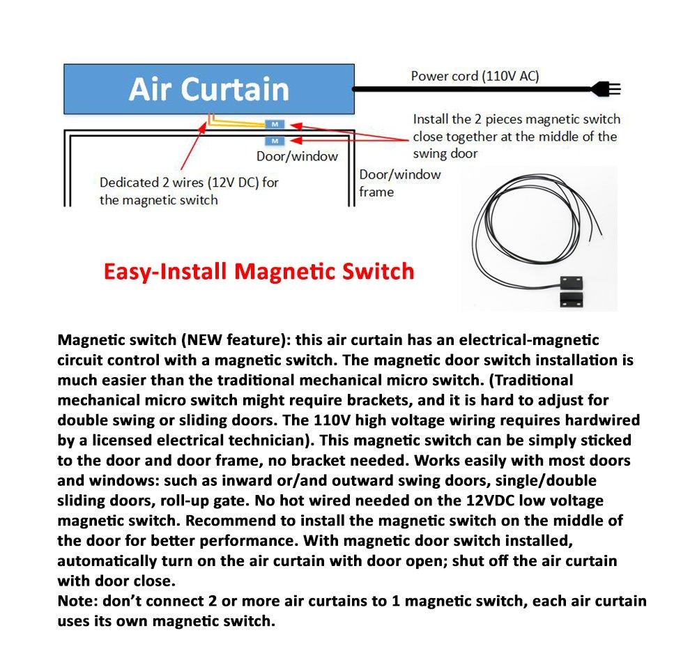 Mars Air Curtain Wiring Diagram