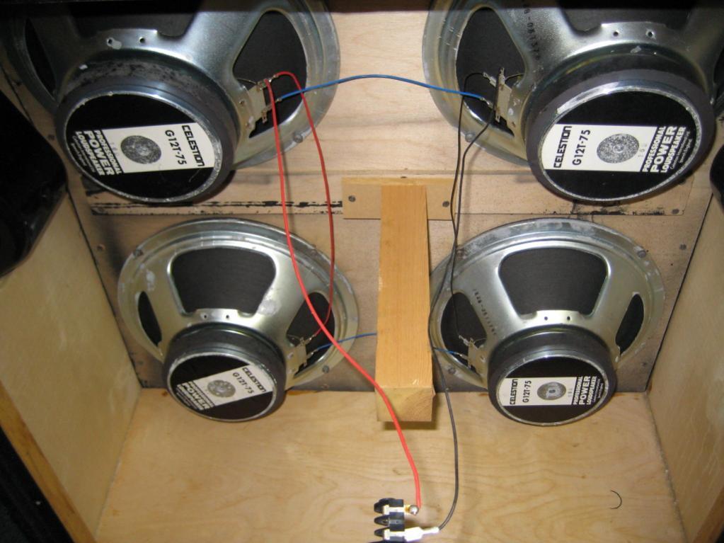 Marshall 4x12 Cabinet Wiring Diagram