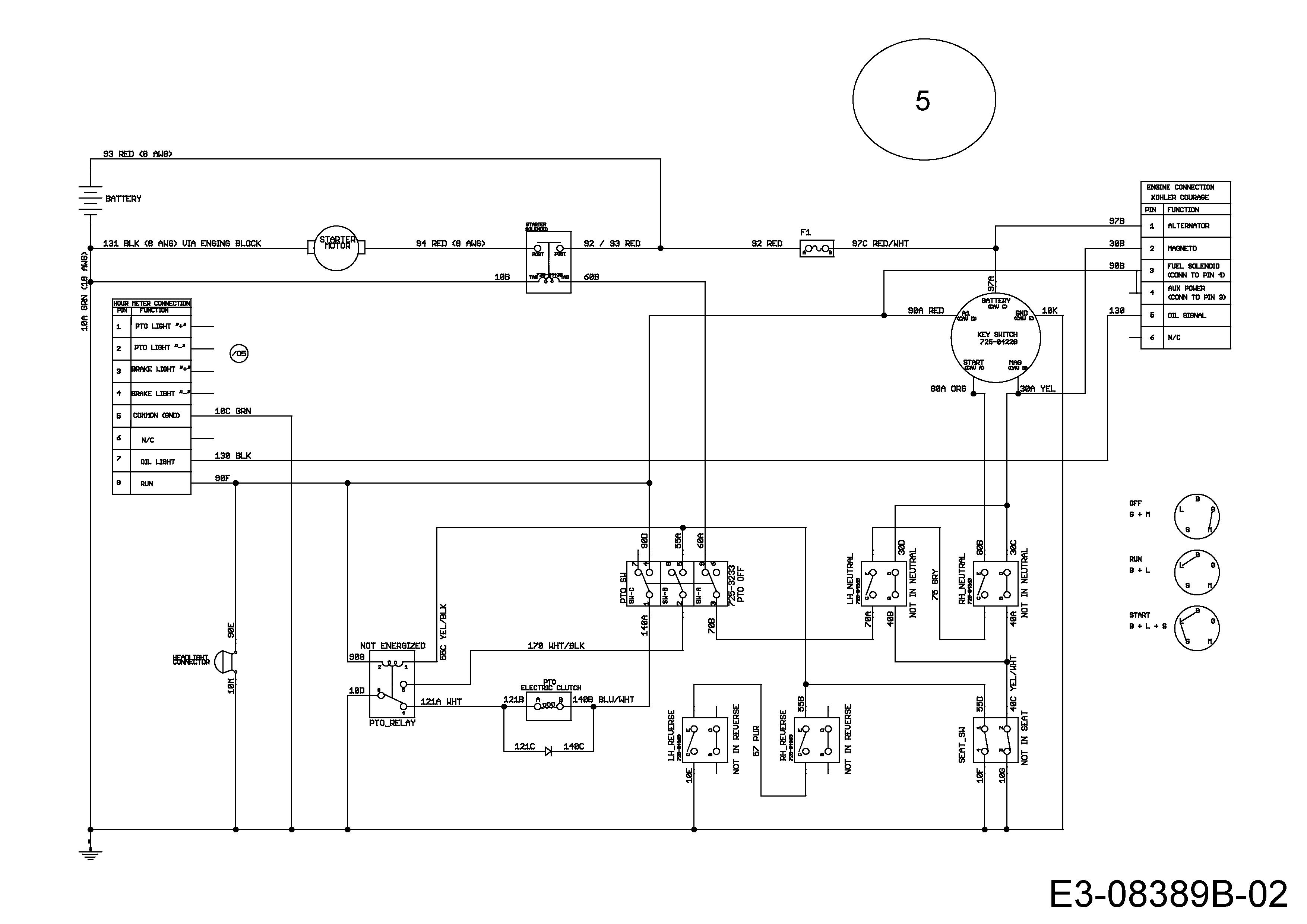 Massey Ferguson Xt1644 Zero Turn Mower Wiring Diagram