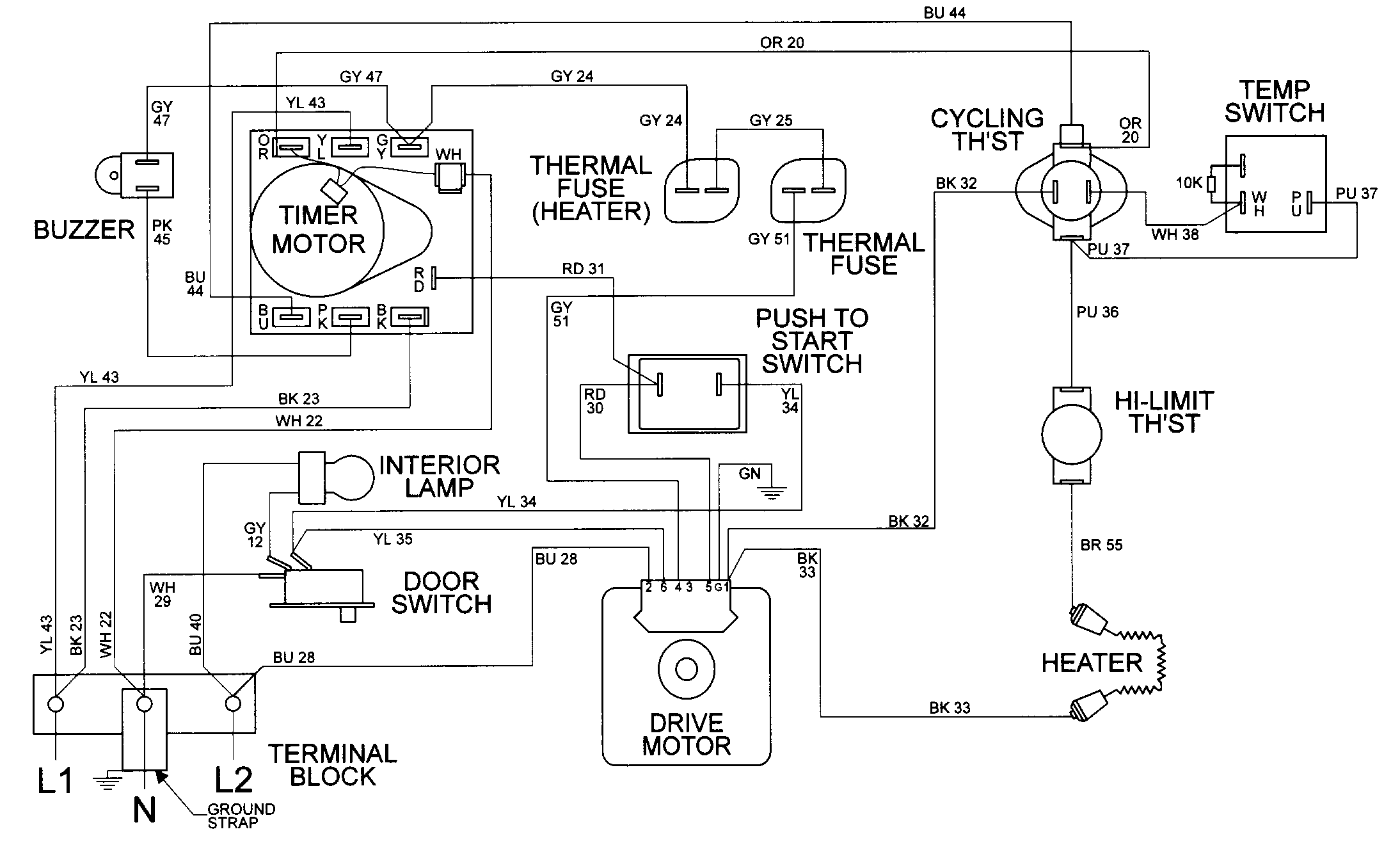 Dryer Wiring Diagram Along With Whirlpool Cabrio Washer Belt Wiring