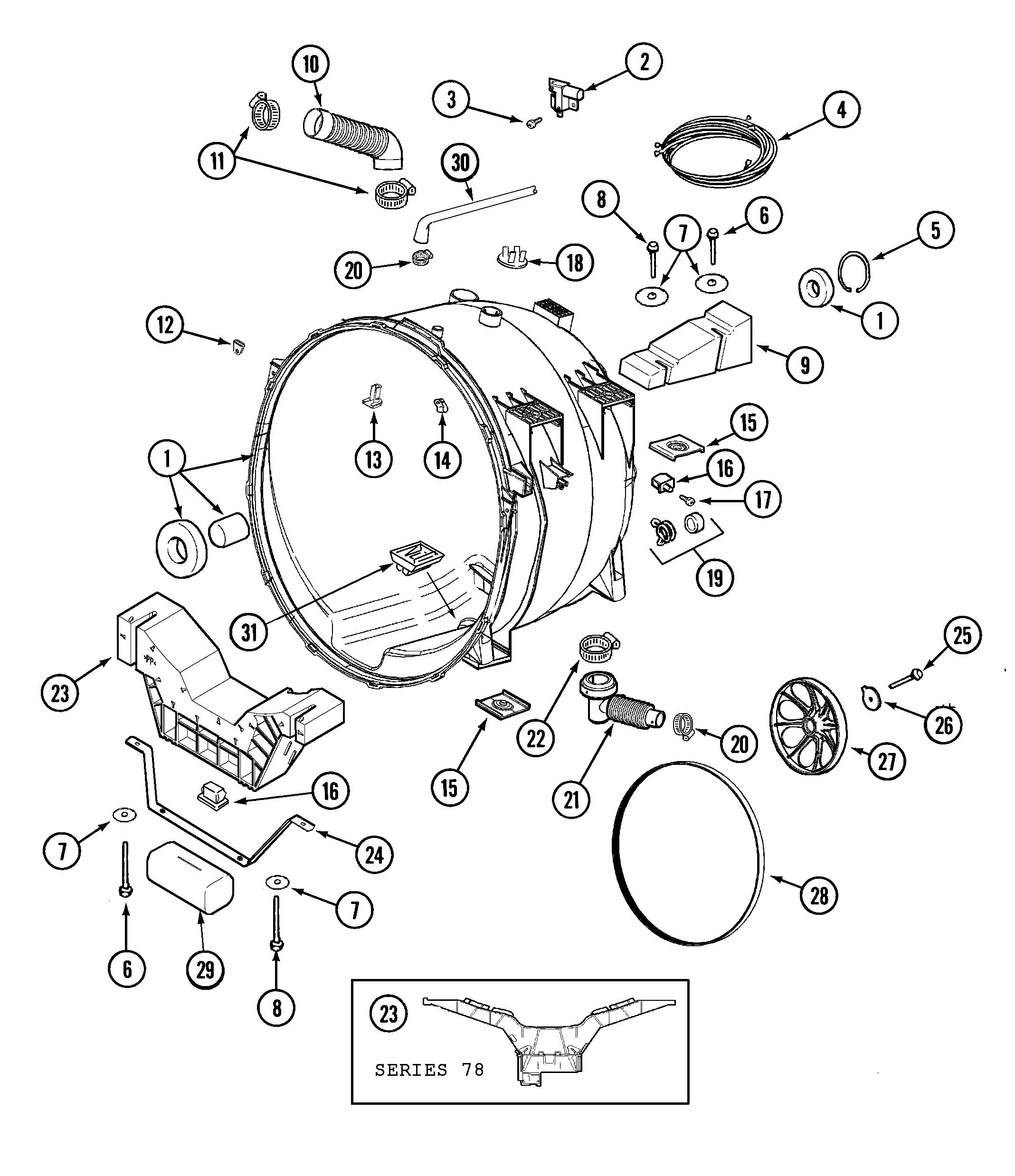 maytag neptune washer parts diagram Mini Maglite Flashlight Parts
