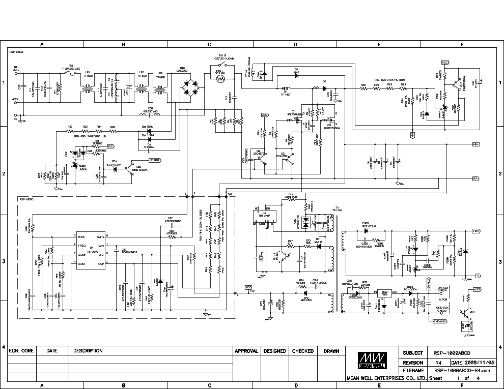 Meanwell Rs-150-24 Wiring Diagram