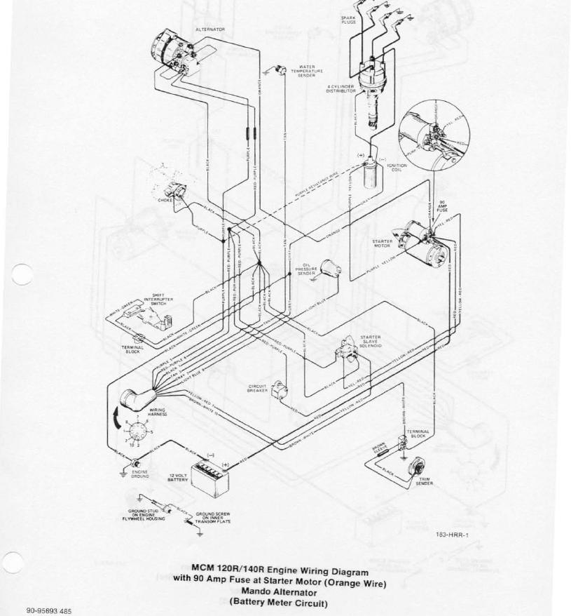 Mercruiser 228 Ignition Coil Wiring Diagram