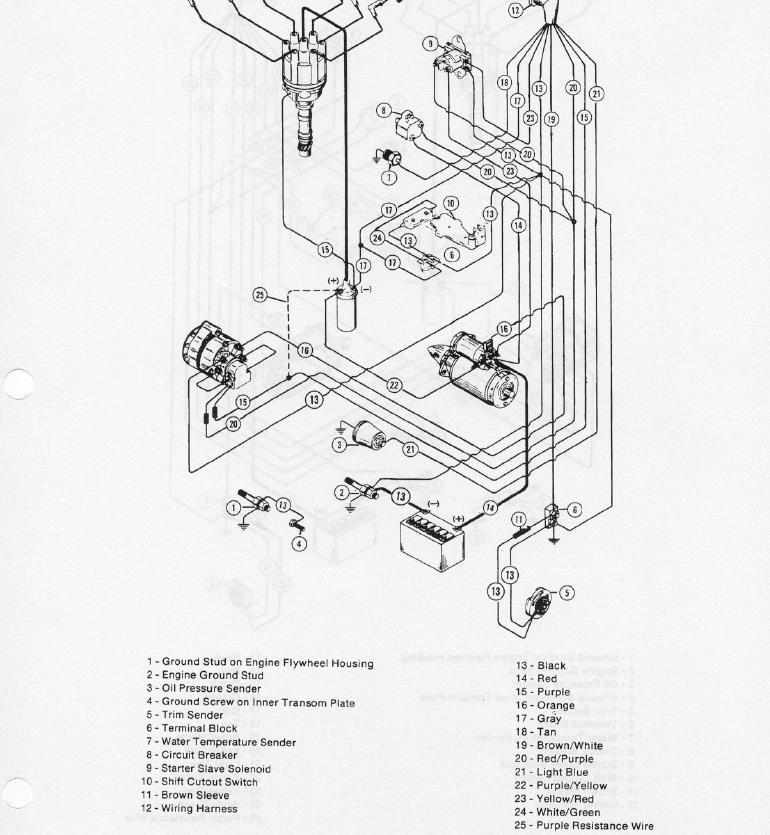 Mercruiser 3 0 Starter Wiring Diagram Furthermore Mercruiser