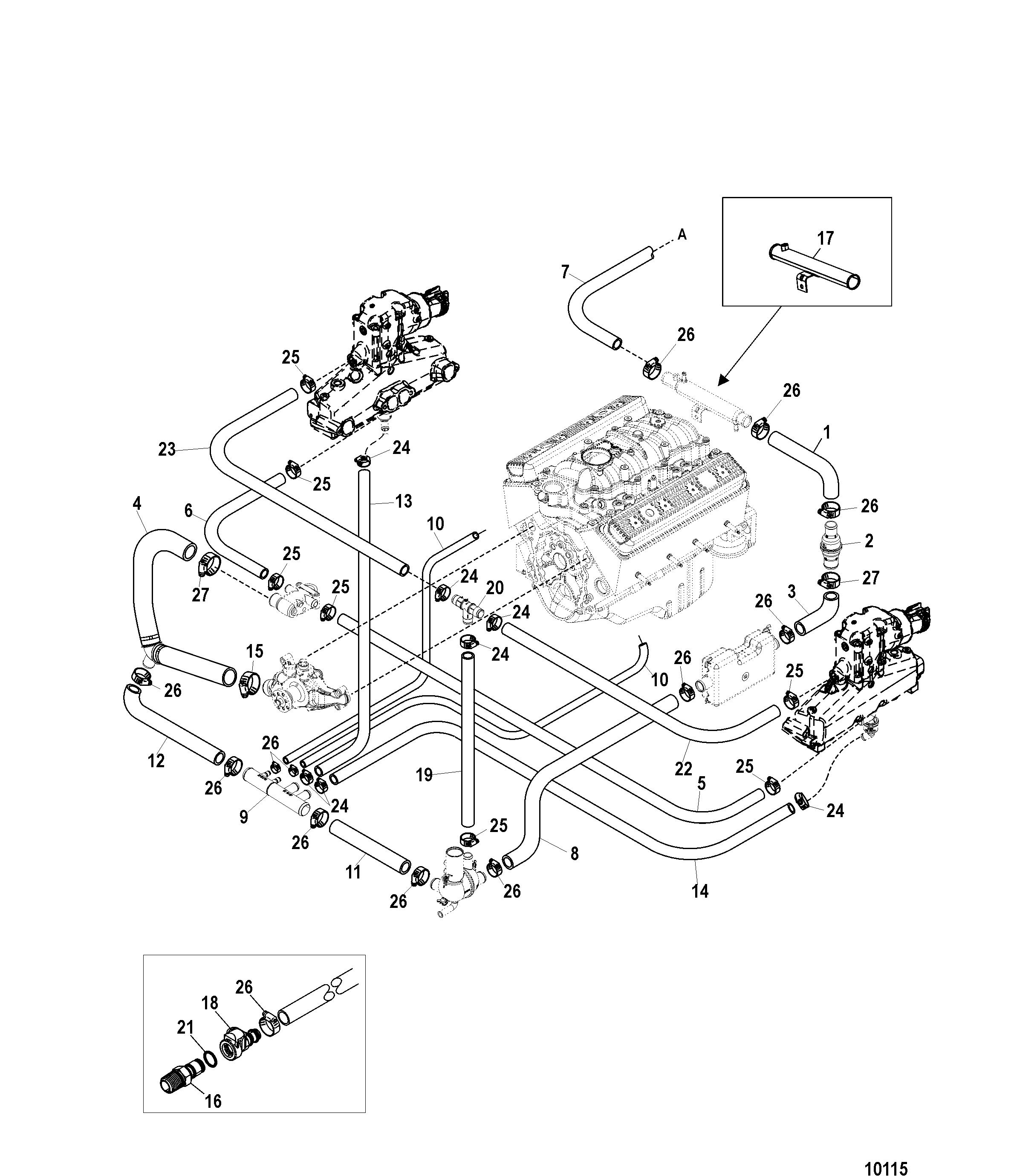 Mercruiser Ignition Diagram Likewise Mercruiser Coil Wiring Diagram