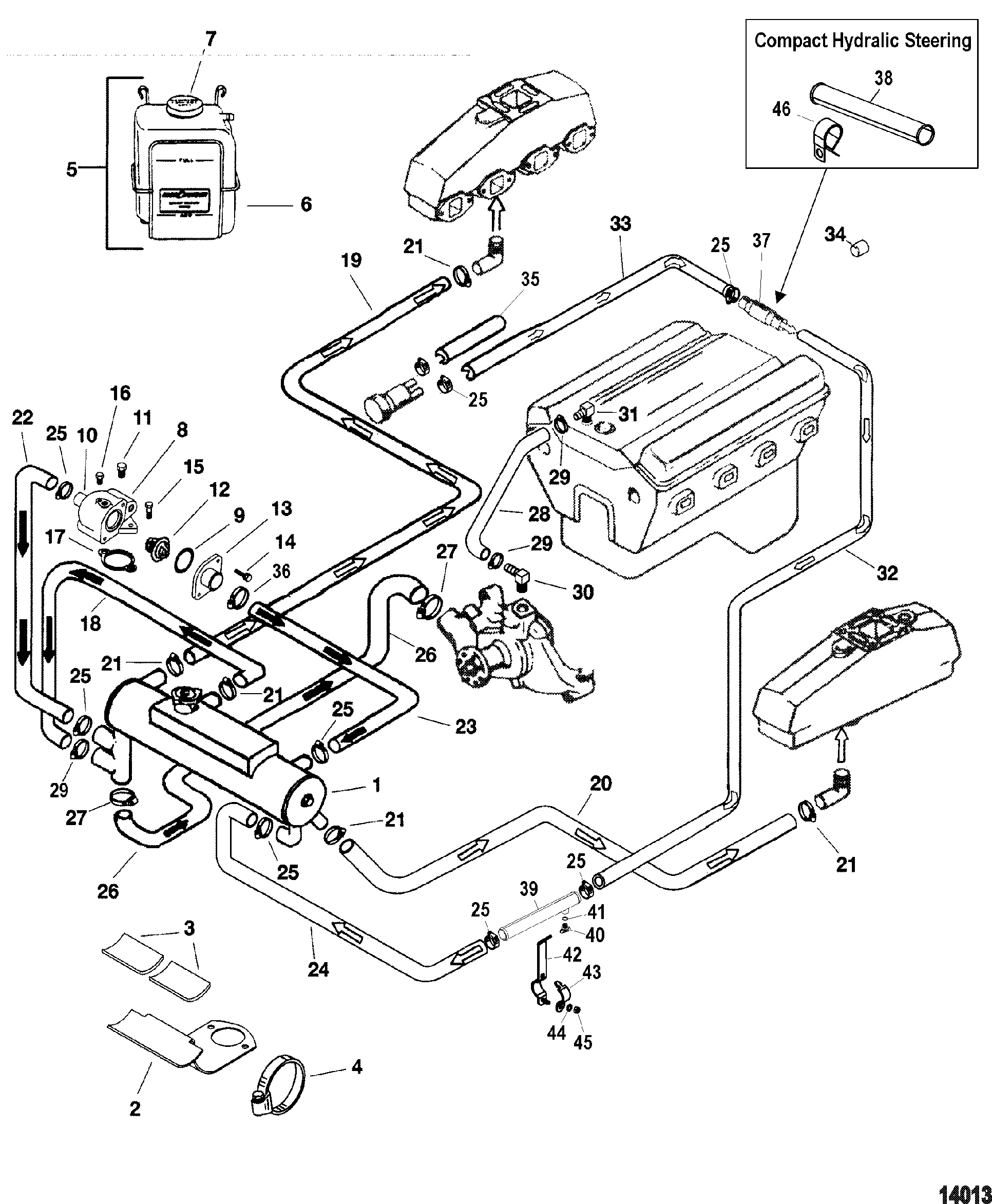 Mercruiser 3 0 Cooling System Diagram