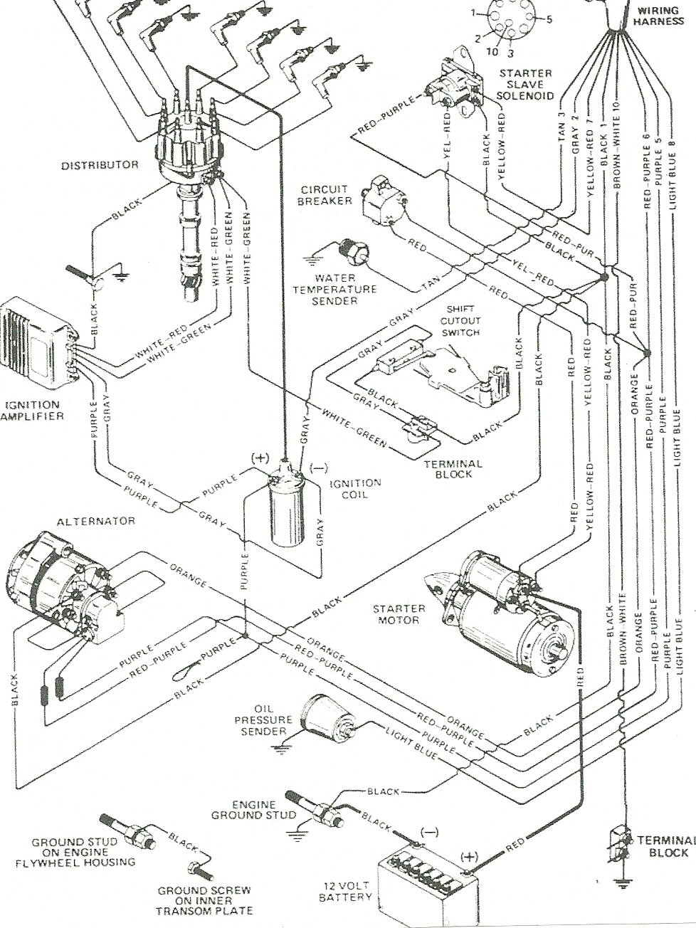 Mercruiser 3 0 Ignition Wiring Diagram