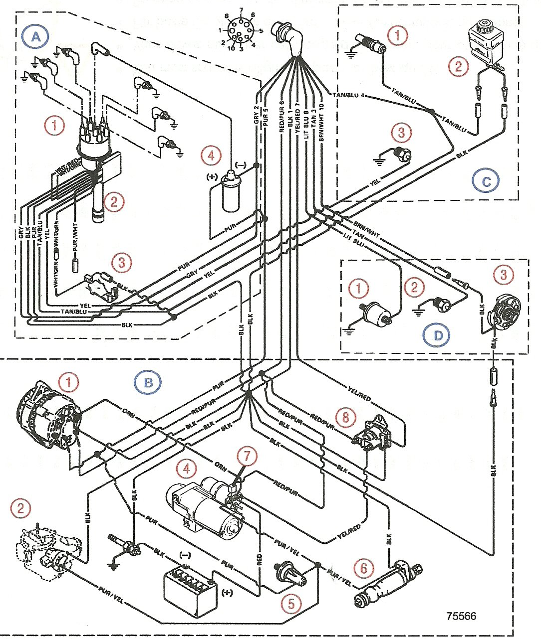 Mercruiser 5.7 Engine Wiring Diagram from schematron.org