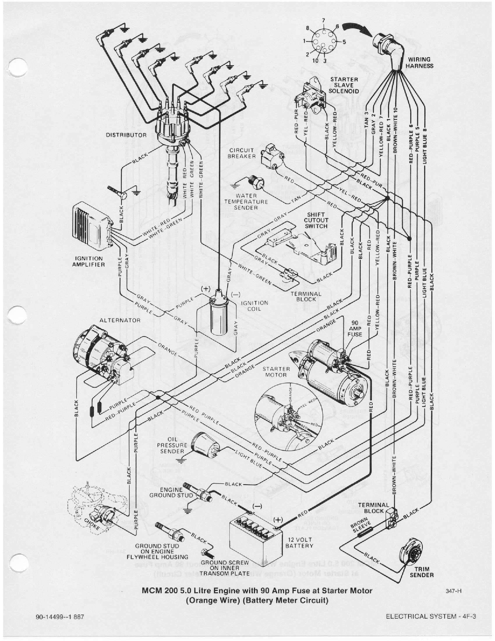 Mercruiser Theunderbolt 4 Wiring Diagram