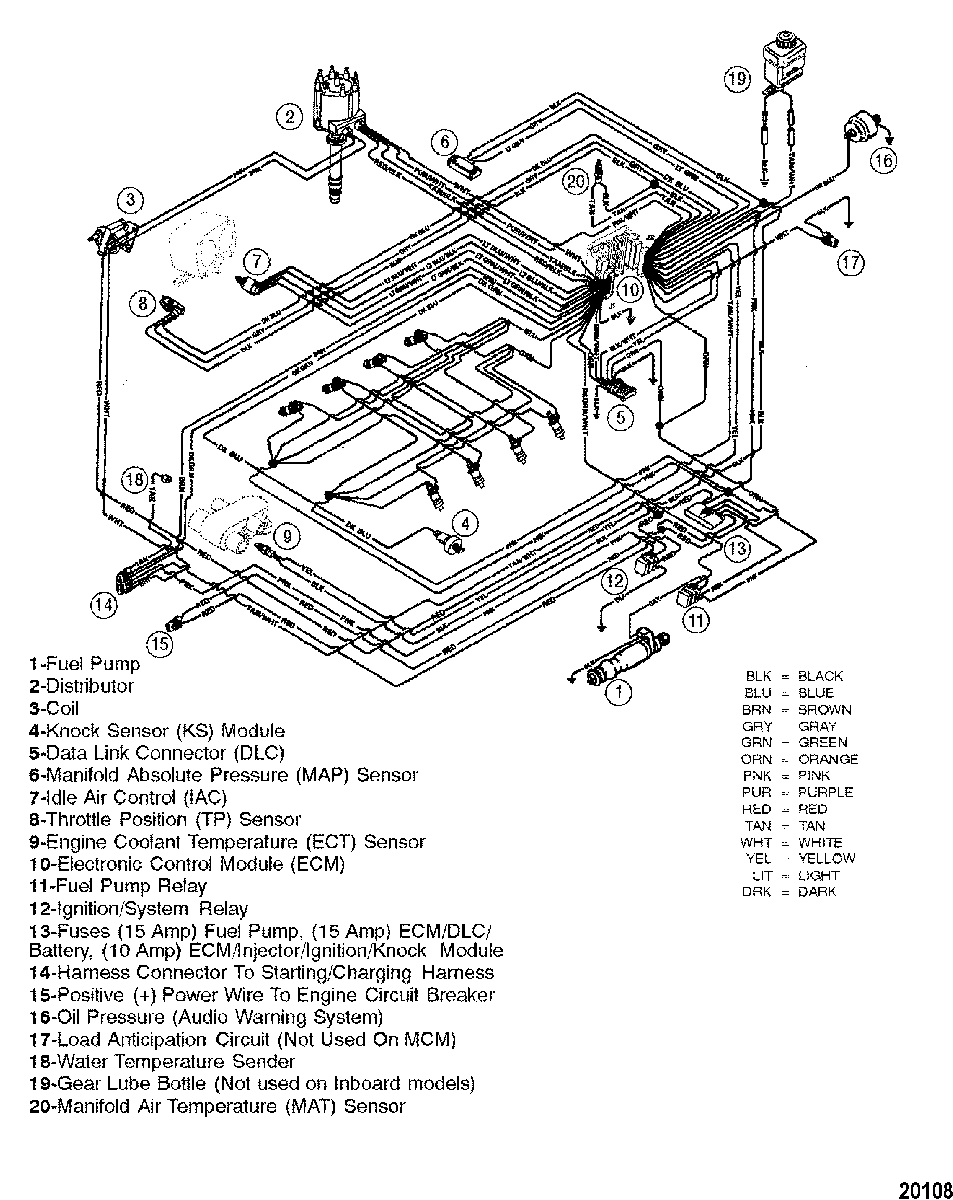 Mercruiser Thunderbolt V Ignition Wiring Diagram