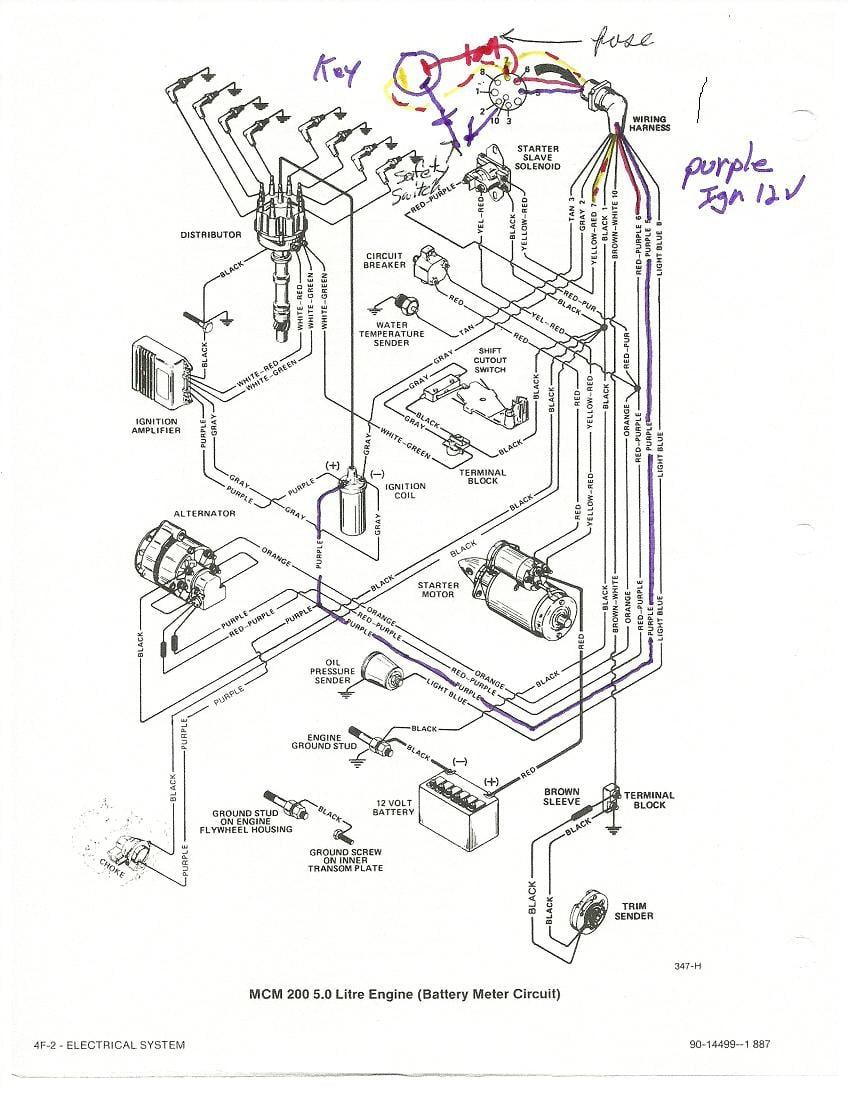 Mercruiser 5.7 Wiring Diagram from schematron.org