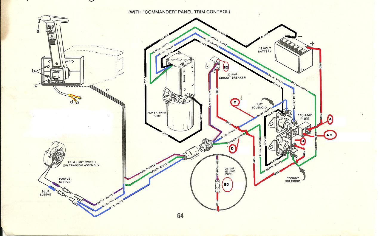 Mercury 2000 50hp 3cly Wiring Diagram