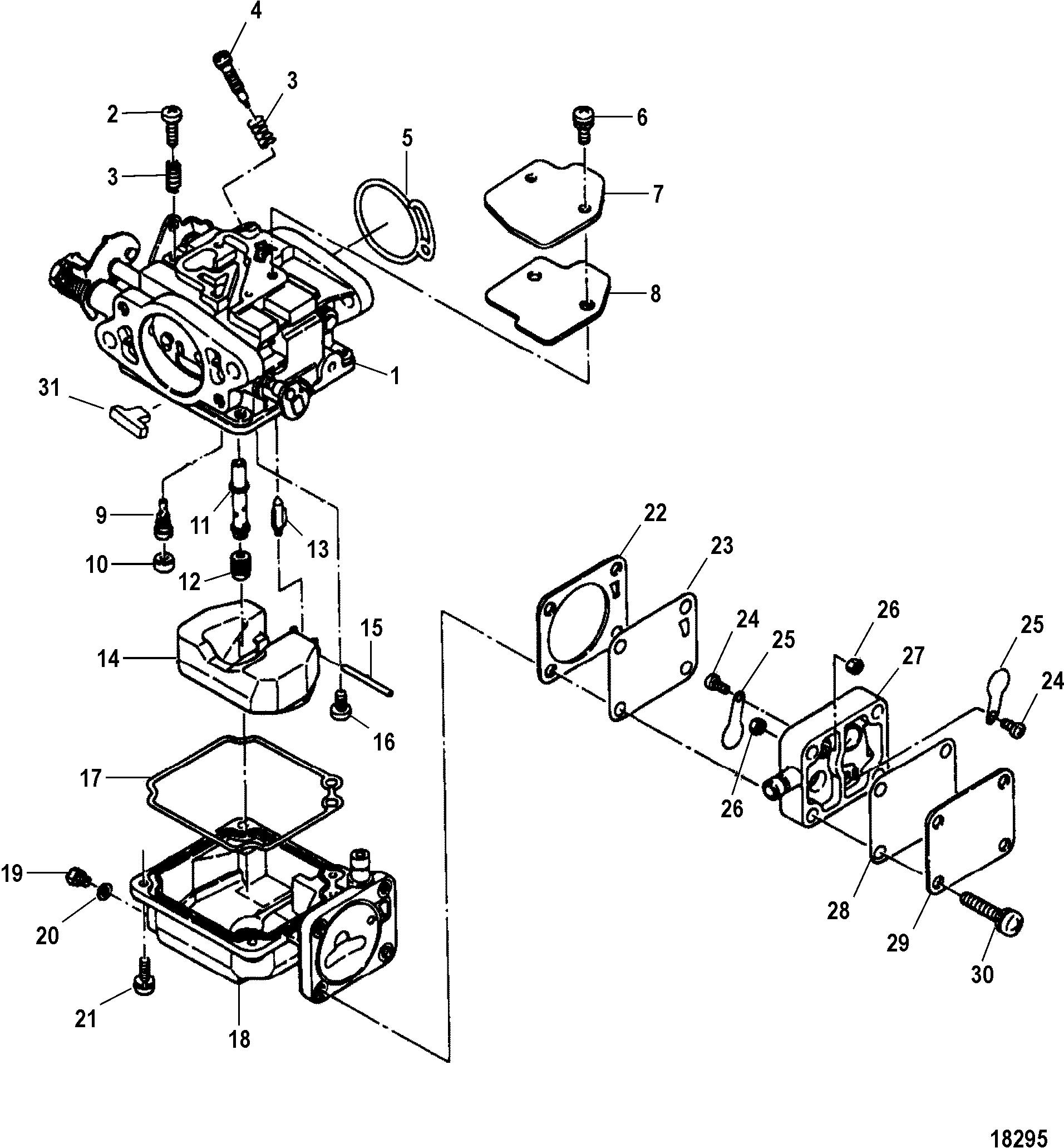 mercury-2cyl-20-hp-2-stroke-wiring-diagram-10  Cylinder Mercury Outboard Motor Wiring Diagram on 50 hp trim, kill switch,
