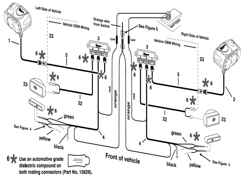 Meyers Snow Plow Lights Wiring Diagram